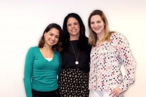 Renata Pereira, Liu Brito, Raquel Barata