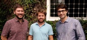 Os sócios Guilherme Biglia e Diogo Ruiz, e o diretor de atendimento para SP Bruno Reis - editado (1)