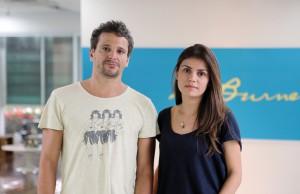 Tomas Correa e Juliana Uchoa