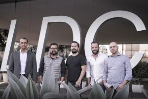 Foto oficial - Executivos LDC - Ronaldo Severino (VP Financeiro), Ken Fujioka (VP Planejamento), Guga Ketzer (CEO LDC) , Márcio Callage  (VP Desenvolvimento), Daniel Chalfon (VP Mídia)