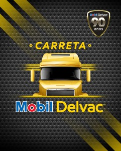 Logo Carreta Mobil Delvac