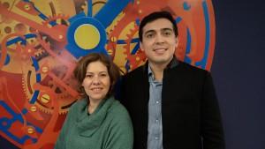 Melissa Sophia e Rodolfo Felipe