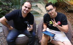 Diego e Thassius - TechTudo - Foto Luciana Maline