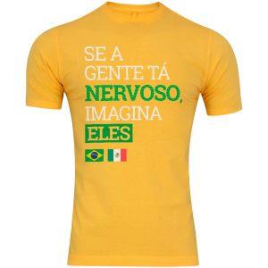 bb37e9f6553cd A Centauro preparou uma ação especial para os jogos do Brasil na Copa do  Munundo. A rede de lojas vem apresentando camisetas especiais e exclusivas  em tempo ...