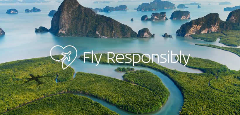 Resultado de imagen para KLM Fly with responsibility